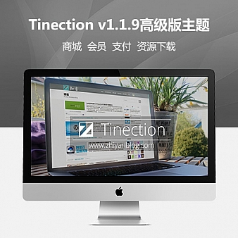 WordPress Tinection v1.1.9高级版主题