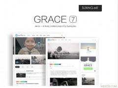 WordPress主题 Grace7.0自媒体、极客,自适应媒体无限制主题[更新至v7.0]