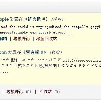 对付wordpress垃圾评论的新战术,任何wordpress主题都可以添加尝试!