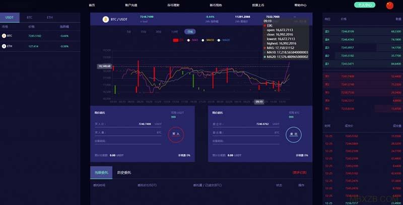 2020新版币币C2C/IEO数字资产自动撮合/合约交易所平台源码